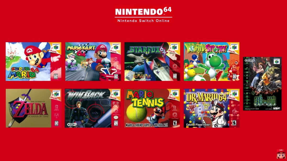 Picture - Nintendo Switch Online to offer N64 and Genesis games with new subscription plan