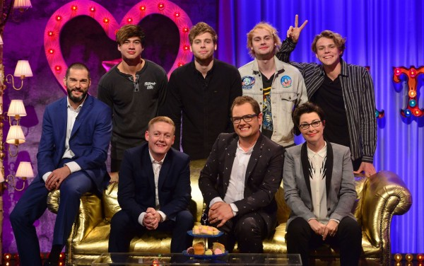 Celebrity guests on Alan Carr: Chatty Man