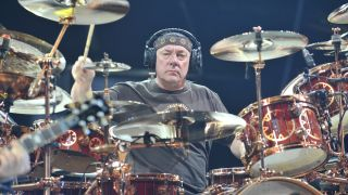 Electronic drum set pioneers: Neil Peart