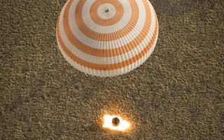 Soyuz Lands With Expedition 36 Crew 1920