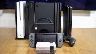 El tamaño de la Xbox Series X