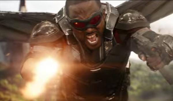 Falcon in avengers infinity war