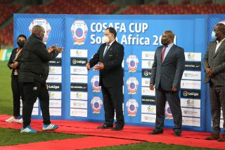 Bafana Bafana assistant coach Morena Ramoreboli