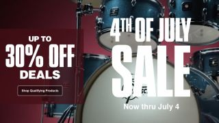 Guitar Center 4th Of July Sale banner