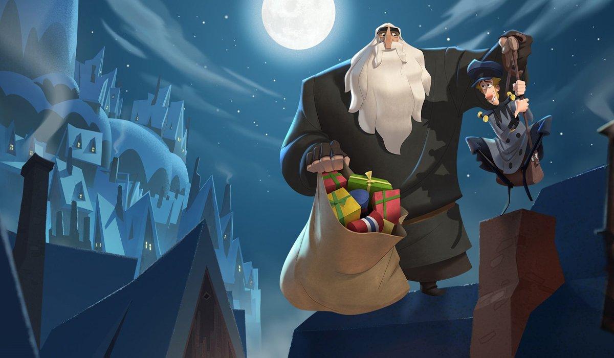 Klaus Netflix animated movie Klaus and Jesper