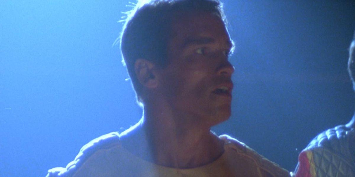 Arnold Schwarzenegger in The Running Man