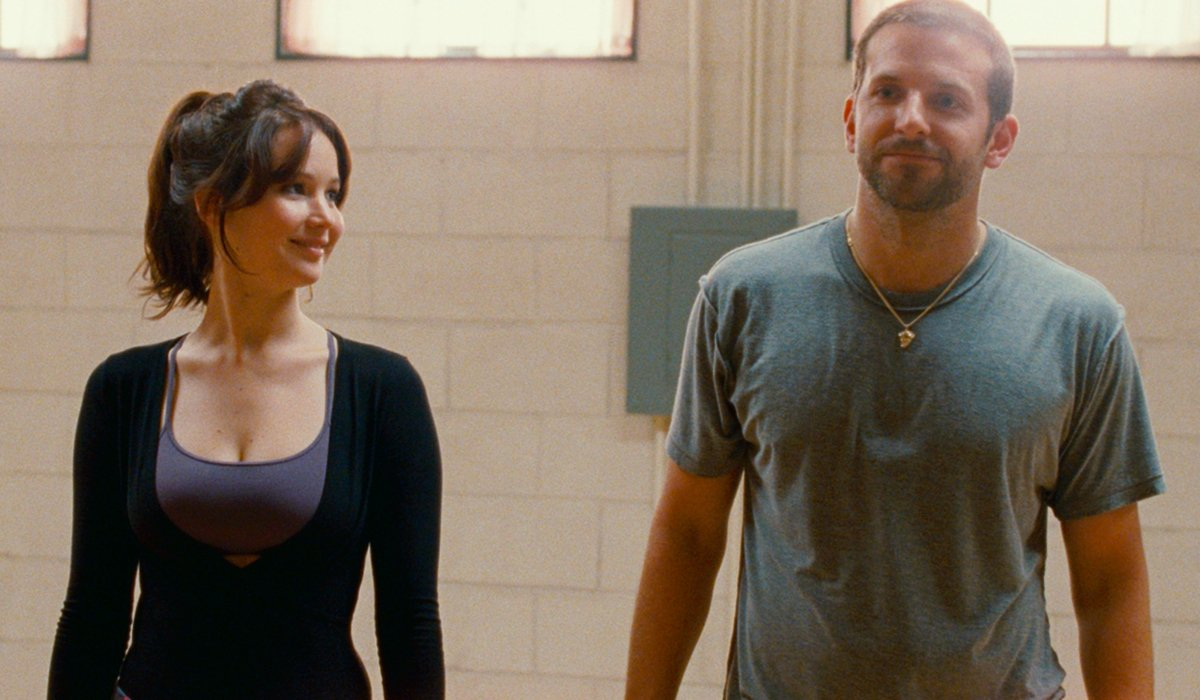 Silver Linings Playbook Jennifer Lawrence and Bradley Cooper