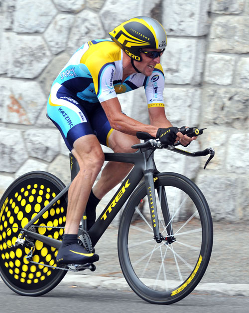Lance Armstrong, Tour de France 2009, stage 1 TT, July 4 2009