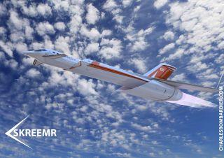 The Skreemr jet.