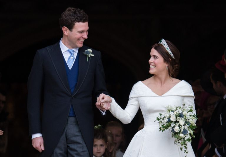 Princess Eugenie and Jack Brooksbank when they lived in Ivy Cottage in Kensington Palace.