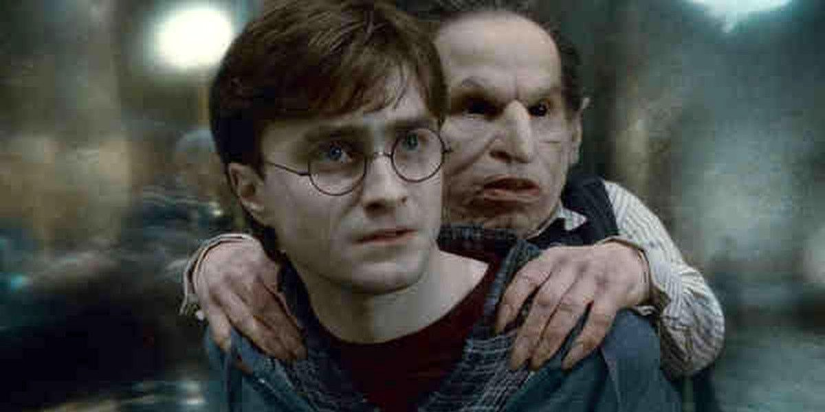 Harry Potter and Griphook