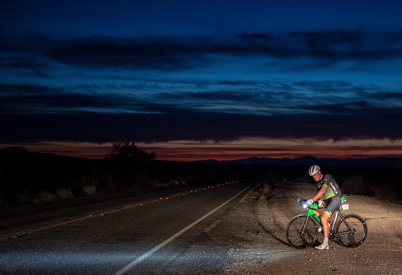 If cancer and getting hit by a truck can't stop James Golding, who'll stop him winning Race Across America? - Cycling Weekly