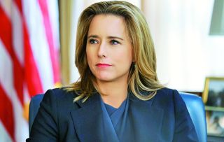 As Secretary of State Elizabeth McCord (Téa Leoni) returns for a fourth series of this political drama, Morgan Freeman directs an episode centred on 'fake news'.
