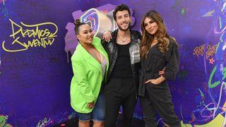 Premios Juventud Univision Chiquis Rivera, Sebastián Yatra, and Alejandra Espinoza host