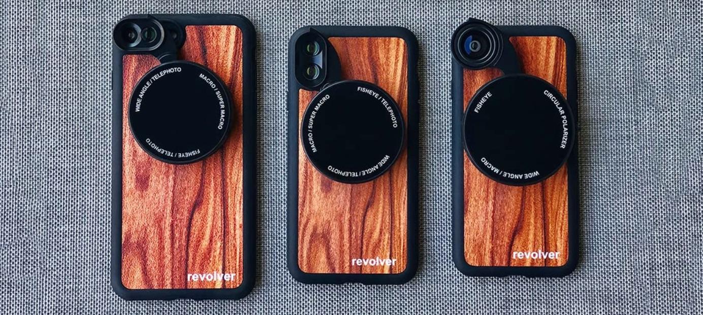 best iPhone lenses: Ztylus M6 Revolver
