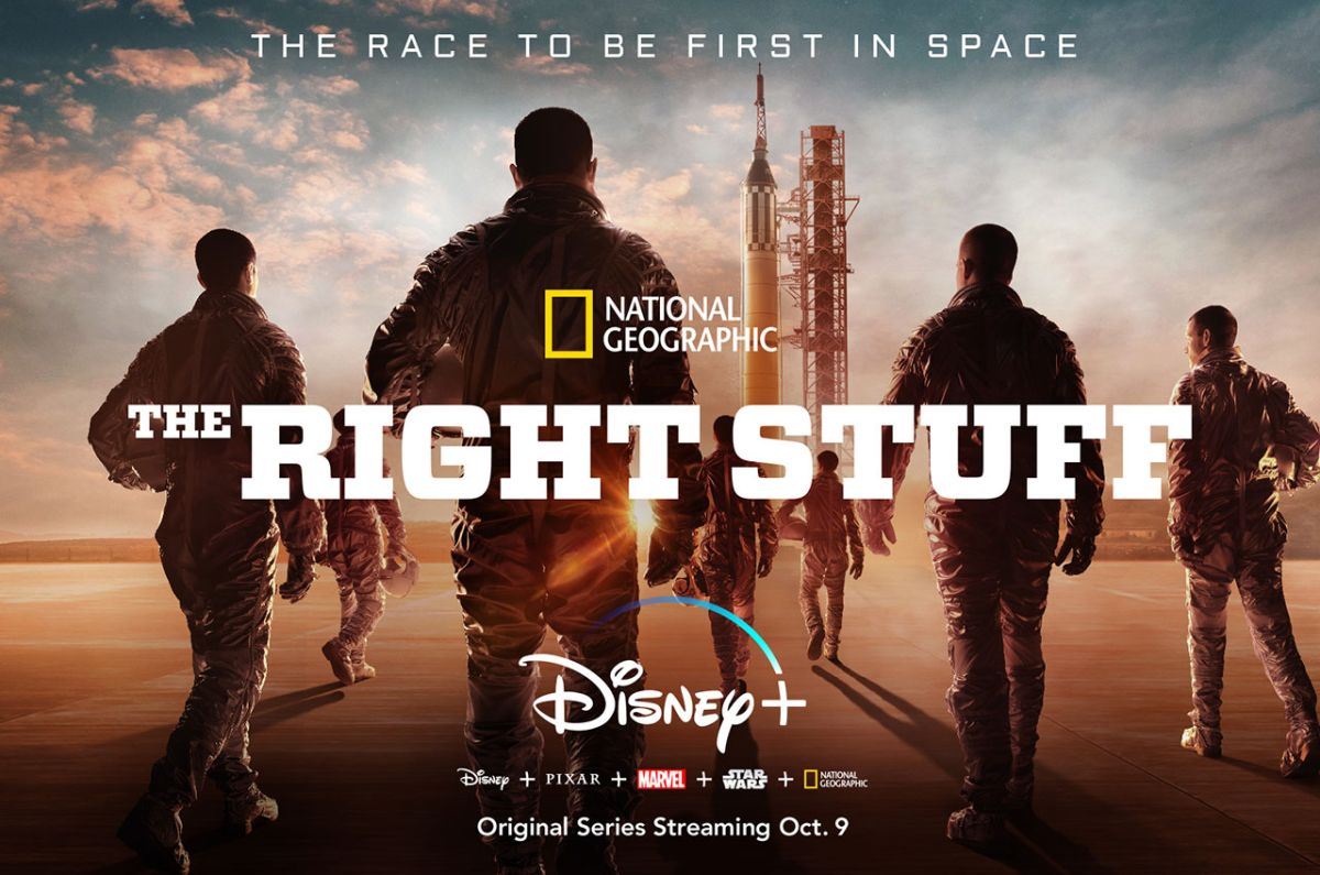 NatGeo sets October launch date for 'The Right Stuff' on Disney Plus | Space