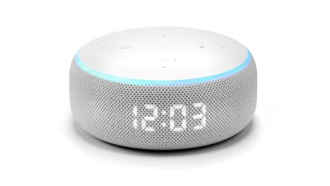 Amazon Echo Dot with Clock review