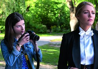 Anna Kendrick photographs Blake Lively in a park