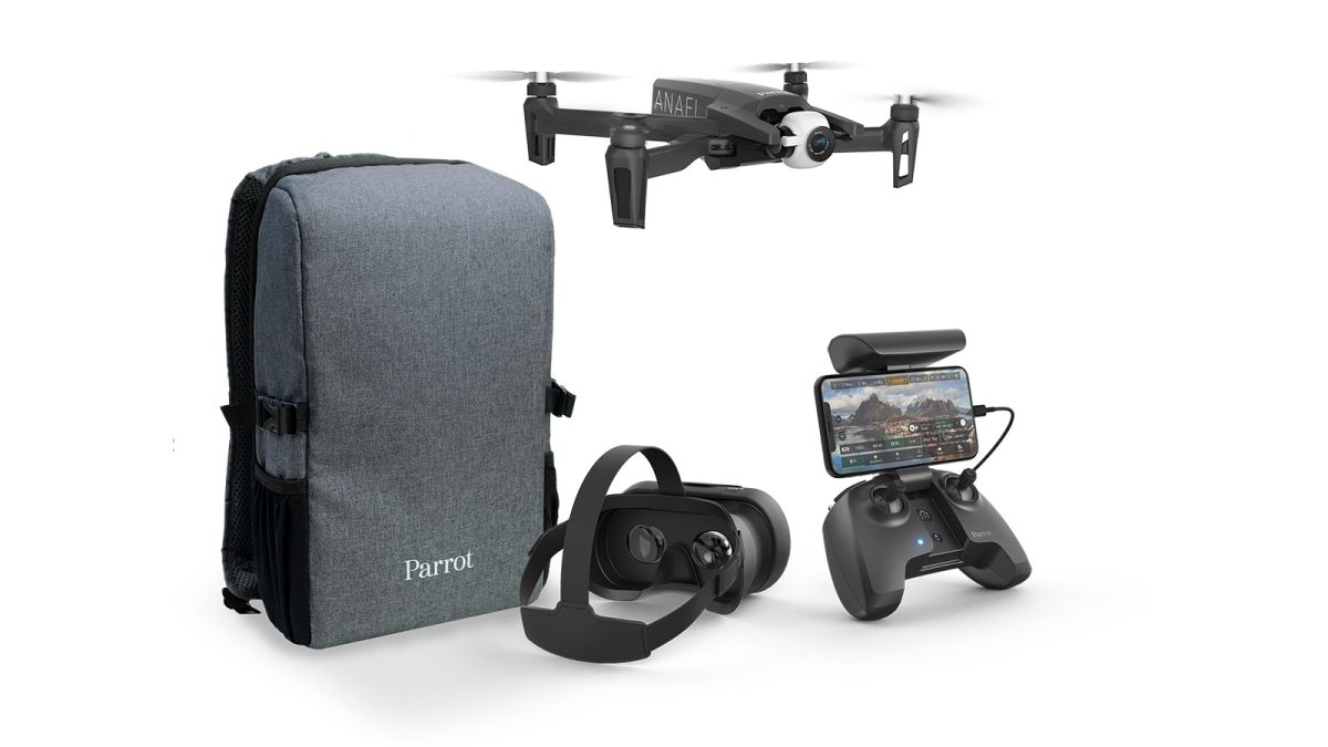 Parrot Anafi FPV puts you in the cockpit for truly immersive
