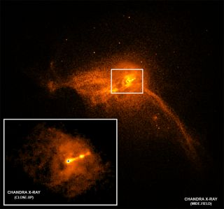 See the X-ray Neighborhood of the First-Ever Black Hole Photo in This Space Telescope View