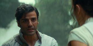 Oscar isaac as Poe Dameron in Star Wars: The Rise of Skywalker