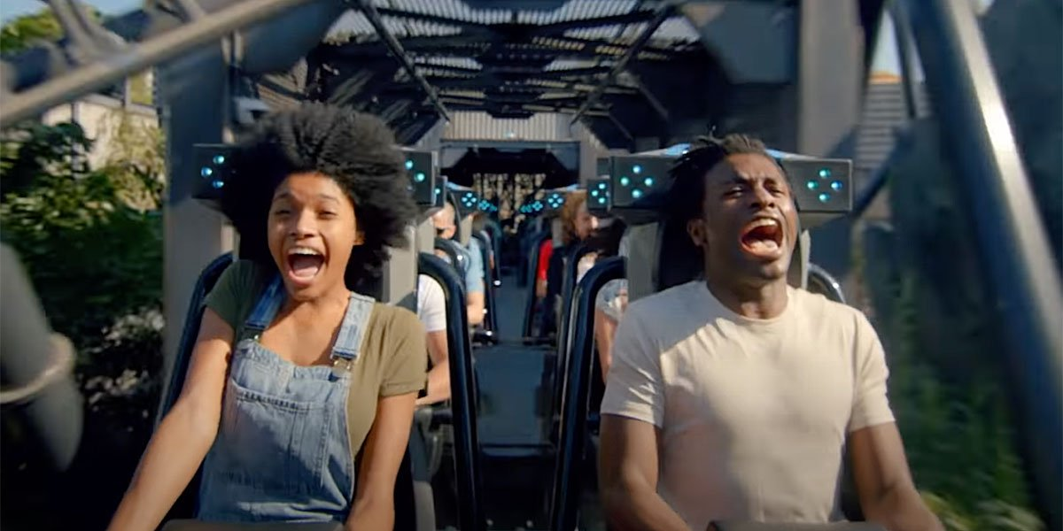 Universal Just Opened A Brand New Rollercoaster. Here Are 3 Great, Can't Miss Moments From The Velocicoaster (Yes, I Rode It)