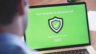 Virustorjuntaohjelma on poistanut koneella havaitut uhkat.