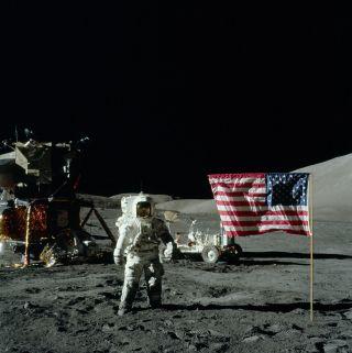"Harrison ""Jack"" Schmitt Moon Landing 1972"