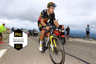 Wout Van Aert on his way to Tour de France glory on stage 11