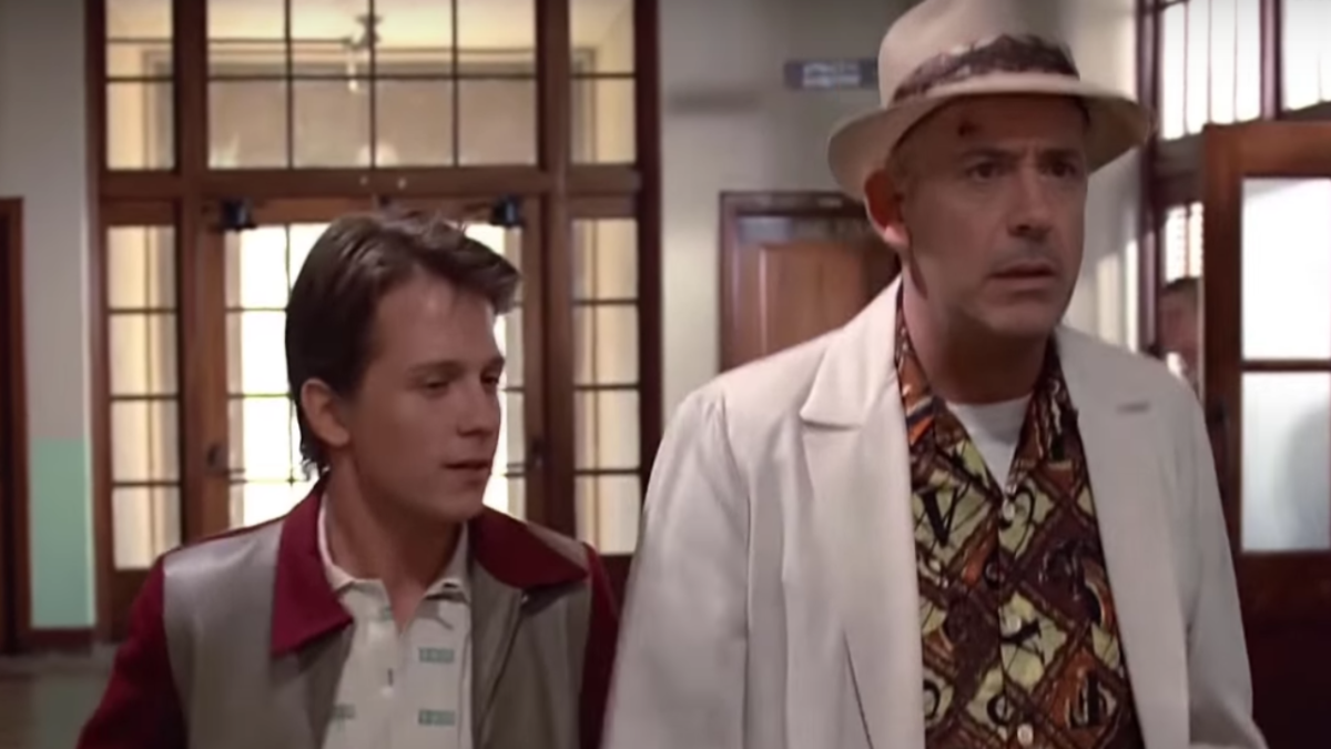 This Back to the Future deep fake puts Tom Holland and Robert Downey Jr. in the starring roles