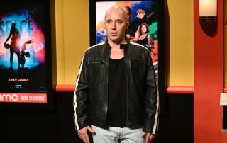 """Pictured: Beck Bennett as Vin Diesel during the """"AMC Theatres Commercial"""" sketch"""