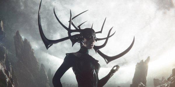 Hela in Thor: Ragnarok