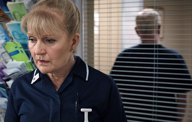 Casualty star Cathy Shipton: 'Duffy knows she needs support'