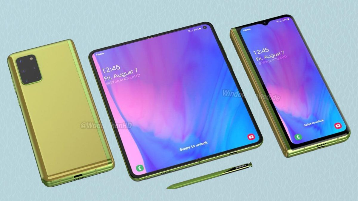 Samsung Galaxy Z Fold 2 Leak Reveals Screen Size Specs Cameras And More Tom S Guide