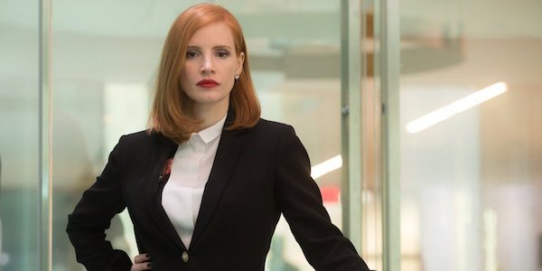 Jessica Chastain in Miss Sloane