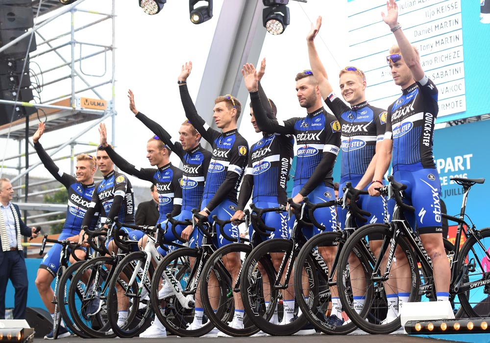 Etixx quick step to become quick step floors from 2017 for Quick step floors cycling team