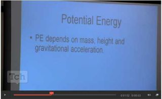 From the Classroom: Best Tech Practice Video of the Week - Potential Energy