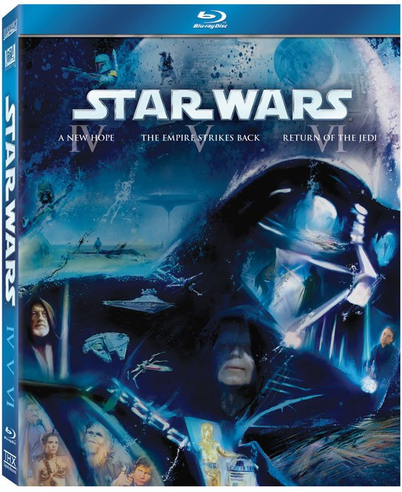 Star Wars Saga On Blu-Ray: Cover Art And Everything Else You Want To Know  #16983