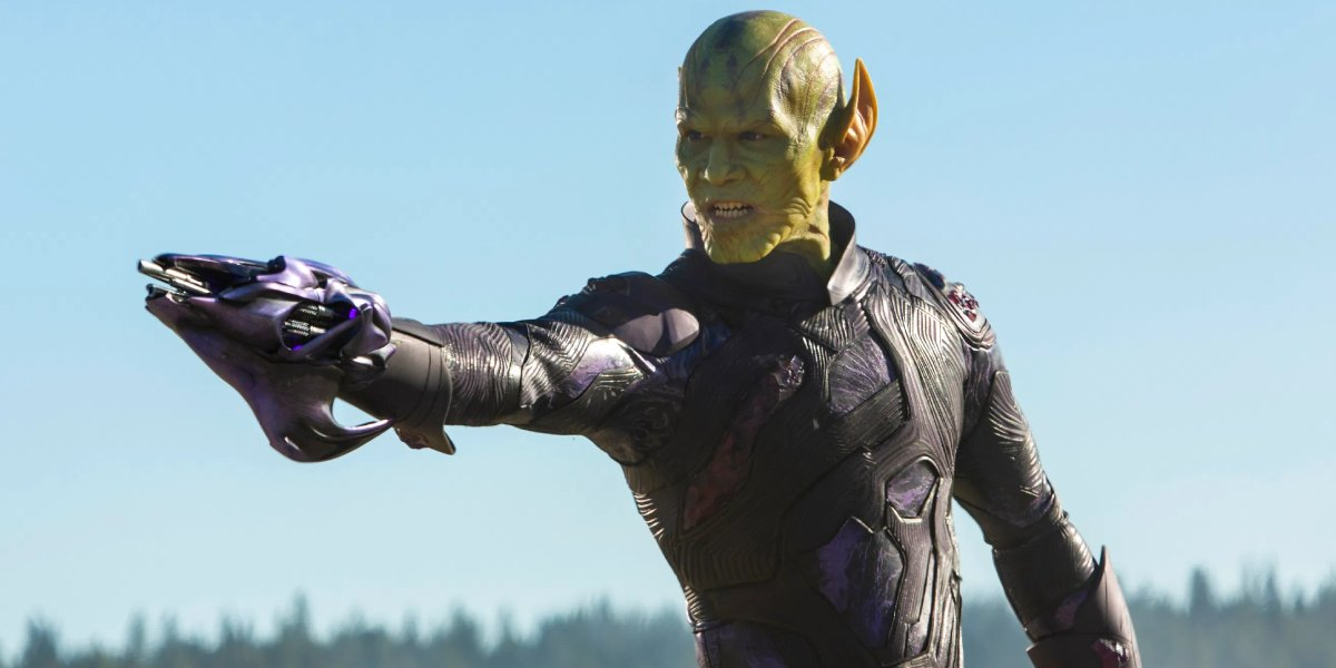 A skrull from Captain Marvel