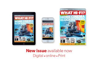 New issue of What Hi-Fi? out now: a home cinema special!