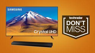 Samsung TV and soundbar deal