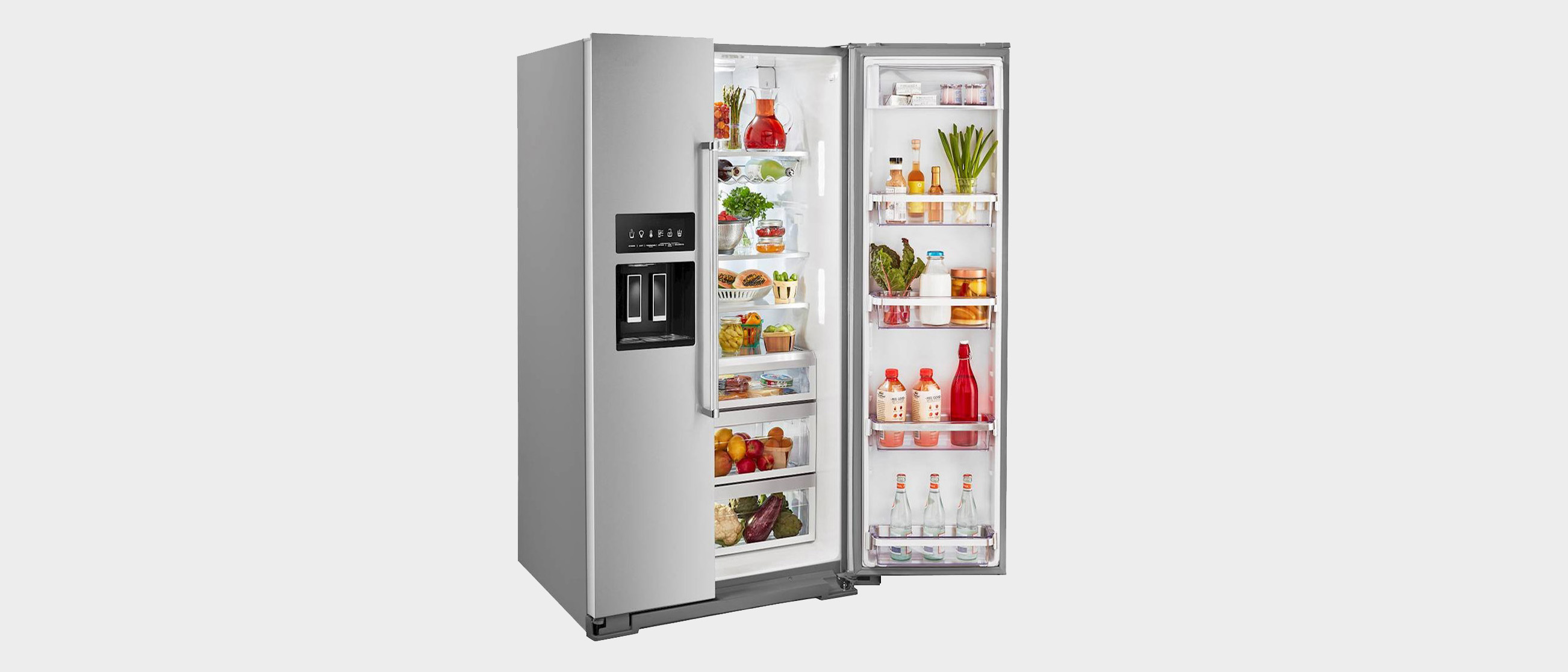 KitchenAid KRSF705HPS Side-by-Side Refrigerator Review | Top ...