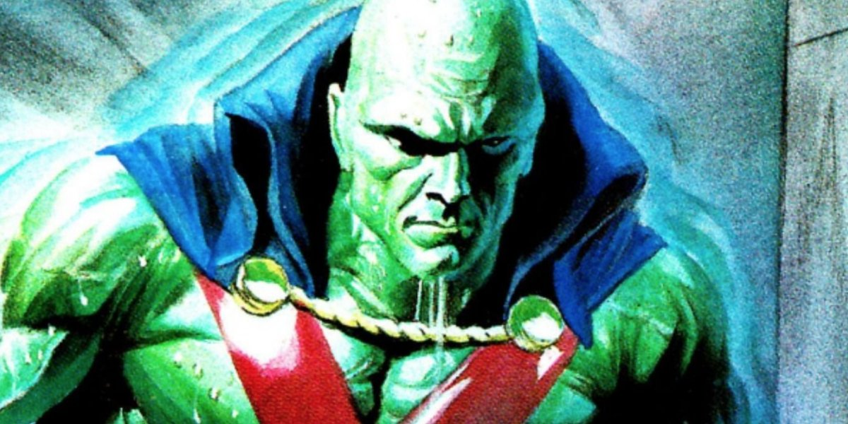 J'onn J'onzz, otherwise known as the Martian Manhunter