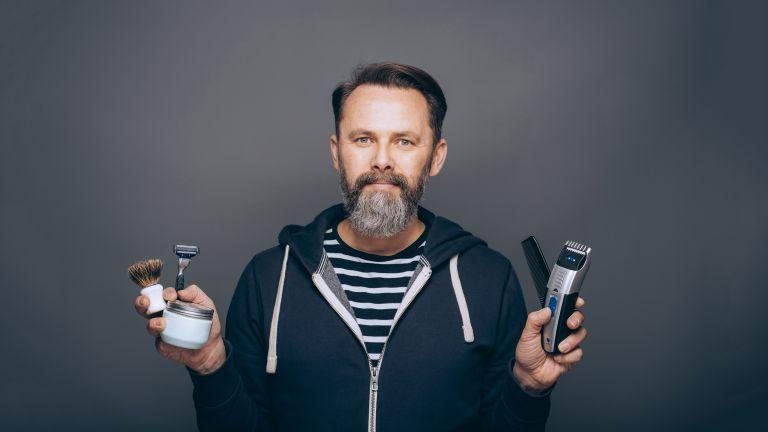 Grooming, hair wax, shaving, beard