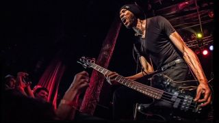 Dug Pinnick on stage