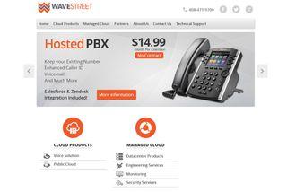 WaveStreet Managed Services PBX voice