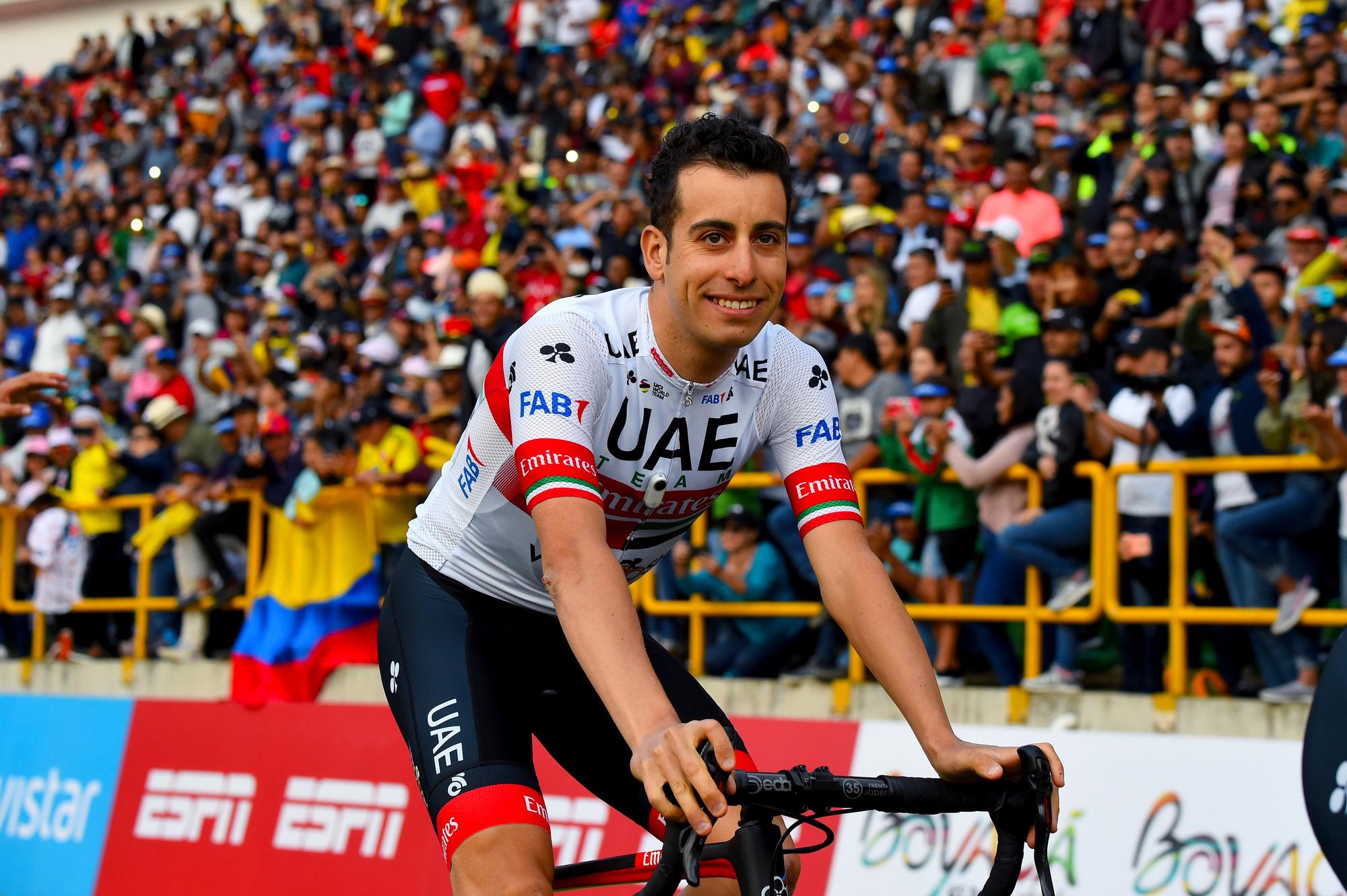 Tour Colombia 2020 3rd Edition Team Presentation Tunja 09022020 Fabio Aru ITA UAE Team Emirates photo Dario BelingheriBettiniPhoto2020