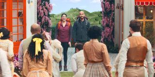 Schmigadoon! stars Cecily Strong, Keegan-Michael Key ready for some musical backpacking fun.