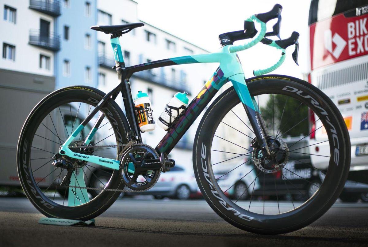 Michael Matthews gets a custom Bianchi Oltre XR4 for Tour de France