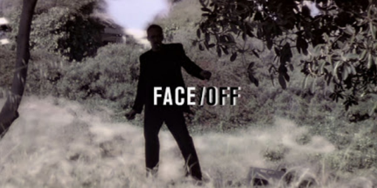 The title card from Face/Off